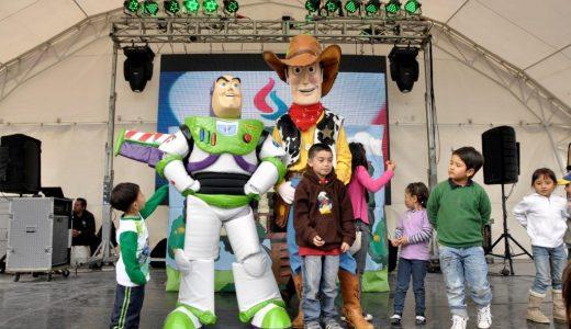 Fiestas infantiles con personajes